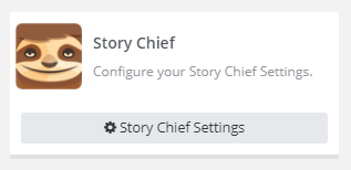 storychief settings